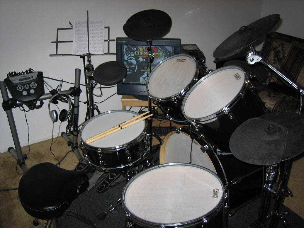 inchoate thoughts acoustic to electric drum conversion. Black Bedroom Furniture Sets. Home Design Ideas