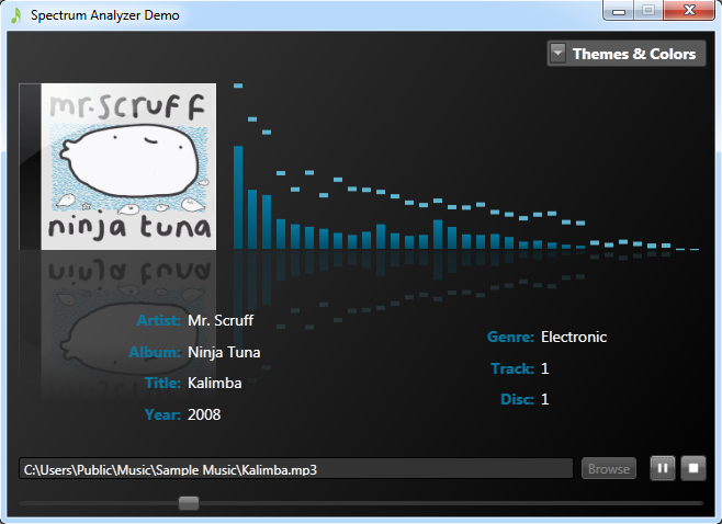 Inchoate Thoughts A Wpf Spectrum Analyzer For Audio