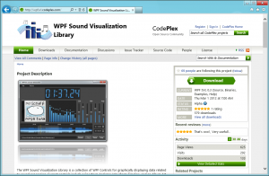 WPFSVL on CodePlex has been updated.