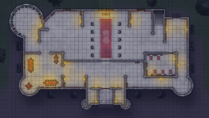 Cathedral of Helm - Level 1 - Night