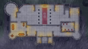 Cathedral of Helm - Level 1 - Rainy Night