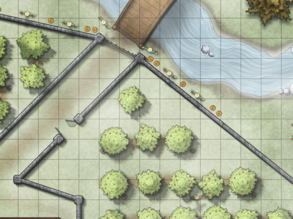 Bad Apples Map - Newton Tell's Orchard Preview