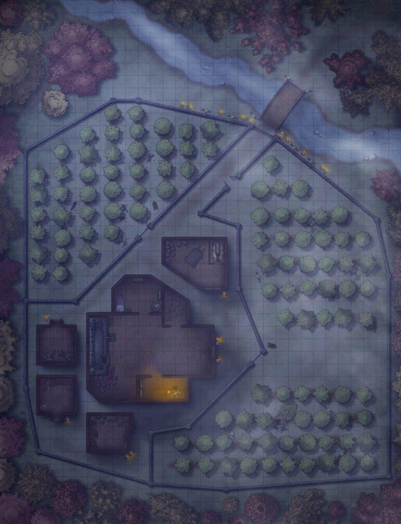 Bad Apples - Newton Tell's Orchard at Night