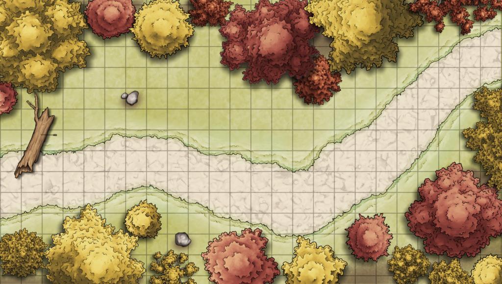 Bad Apples Map - Bandit Encounter